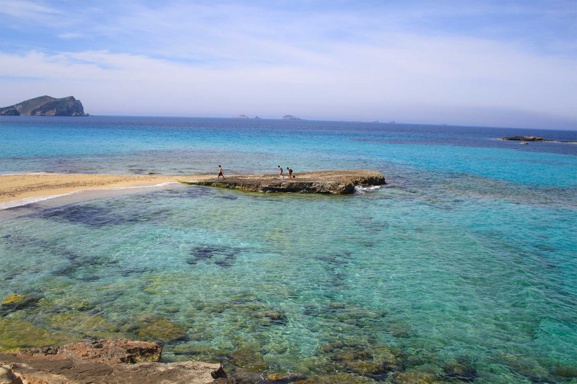 Cala Conta beach in Ibiza
