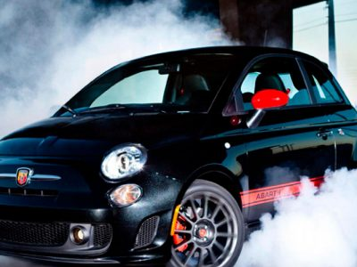 Abarth rent luxury car Ibiza