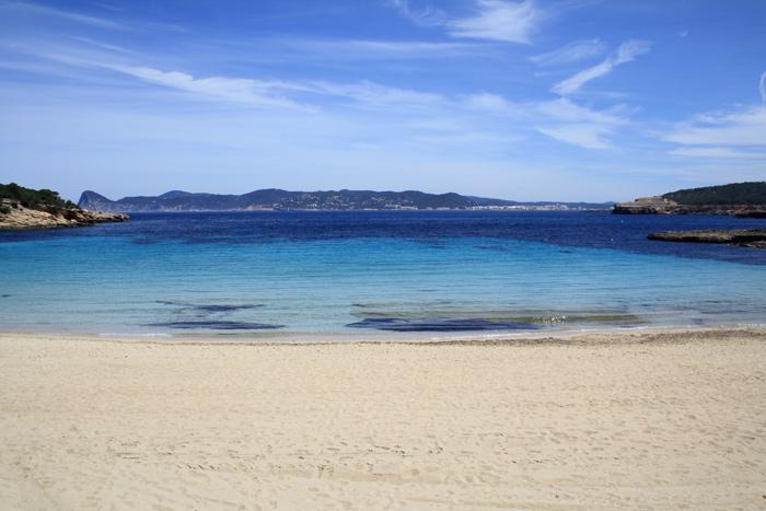 Cala Bassa beach Ibiza