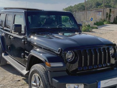 Jeep Wrangles 5 doors for rent in Ibiza