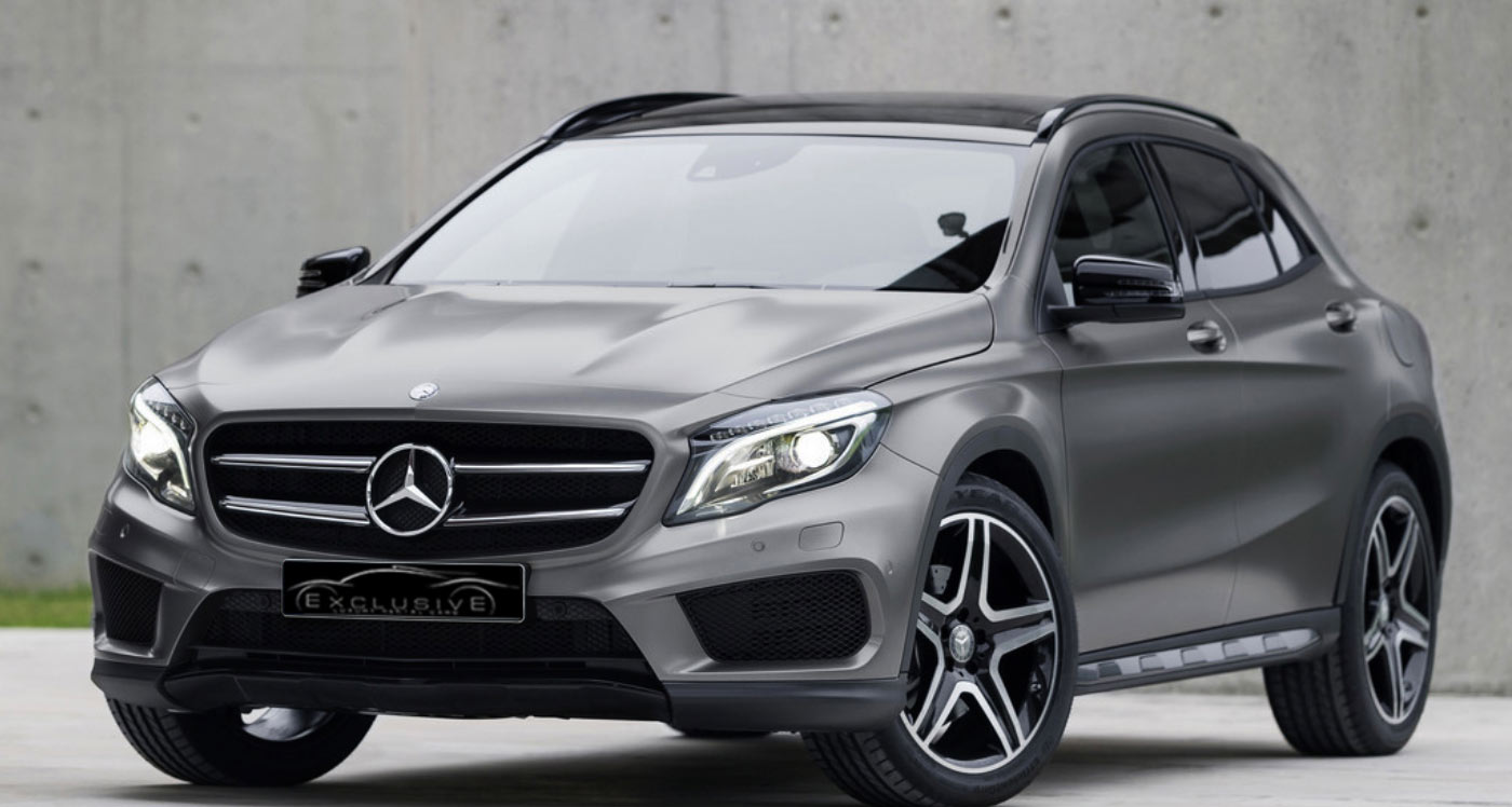 Mercedes GLA AMG luxury car for rent in Ibiza