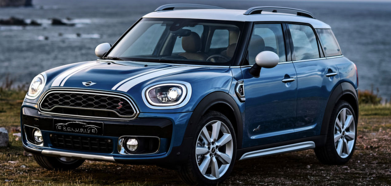 Mini Countryman exclusive luxury car for rent in Ibiza