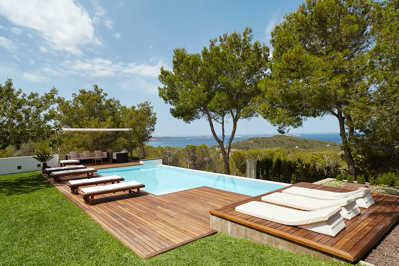 Villa Sol Post - holiday villa with sunset views for rent in Ibiza